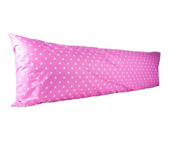 Vartalotyynyliina Karolina 50x150cm - pinkki