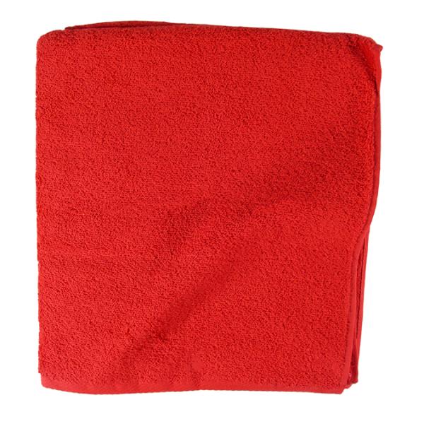 Jättipyyhe 100x150cm - punainen