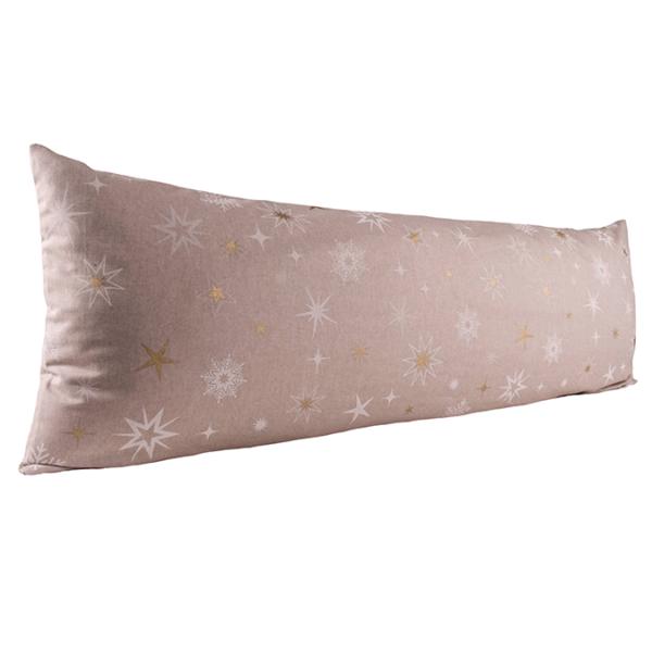 Vartalotyynyn päällinen Kultaiset tähdet 45x145cm