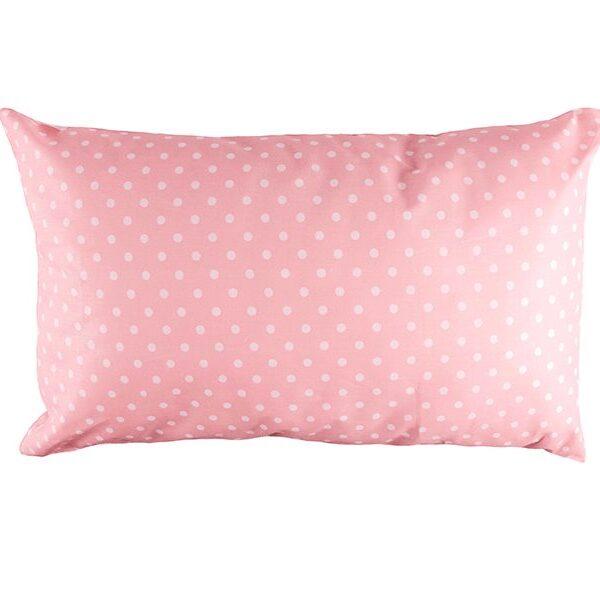 Lasten tyyny Onni 35x55cm - vaaleanpunainen