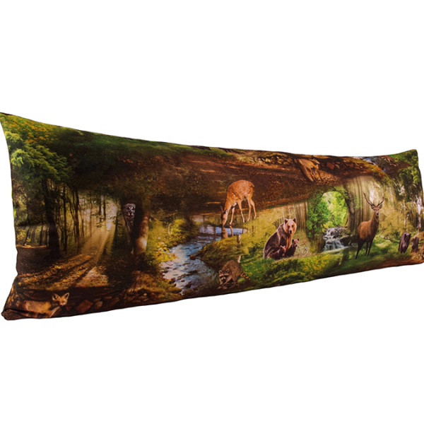 Vartalotyynyn päällinen Metsässä 45x145cm