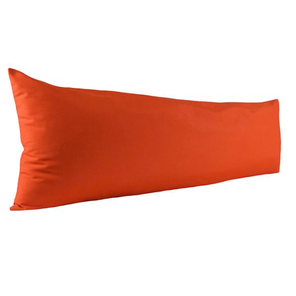Vartalotyynyn päällinen Otto 45x145cm - oranssi