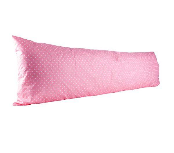 Vartalotyynyliina Onni 50x150cm - vaaleanpunainen