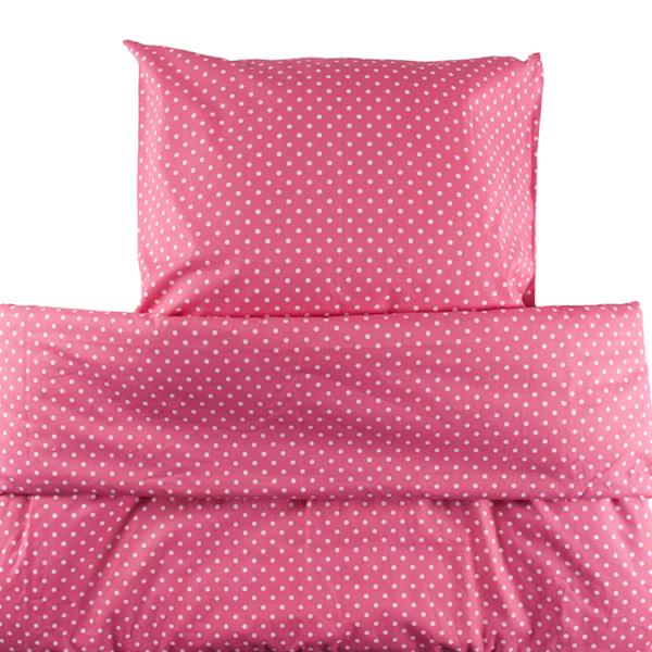 Erikoispitkä pussilakanasetti Onni 150x240cm - pinkki