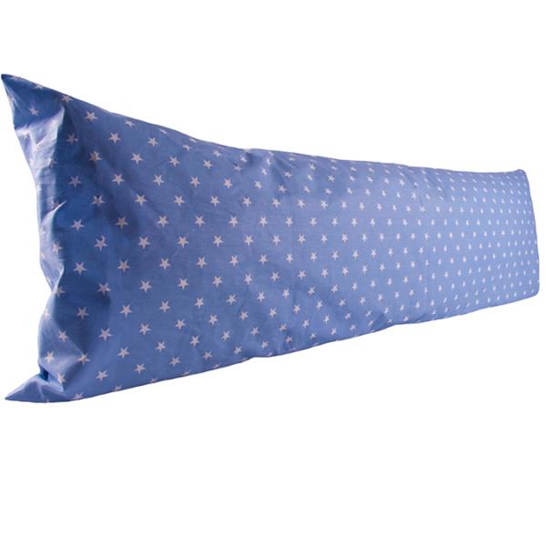 Vartalotyynyliina Karolina 50x150cm - sininen