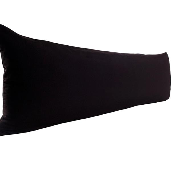 Vartalotyynyn päällinen Otto 45x145cm - musta