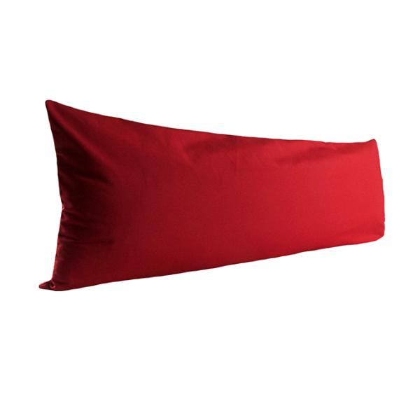 Vartalotyynyn päällinen Otto 45x145cm - punainen