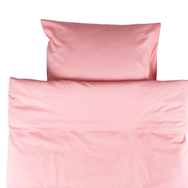 Painopeiton pussilakanasetti 150x210cm - vaaleanpunainen
