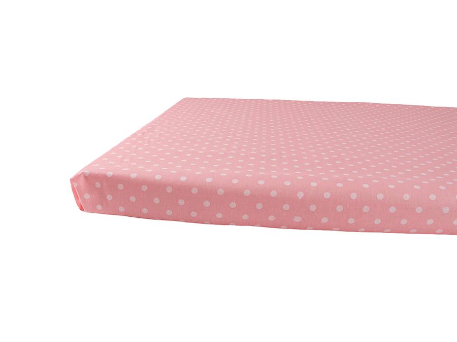 Vauvan aluslakana Onni 90x150cm - vaaleanpunainen