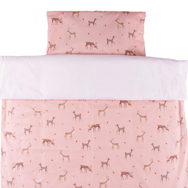 Vauvan pussilakanasetti Bambi - 85x125cm